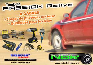 Tombola Passion Rallye TKN Racing 2015